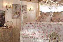 dreamy bedrooms / Elegant bedrooms, romantic, inviting, restful and serene