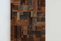 Tableau chute de bois