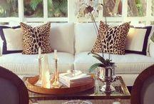 Living Room / Chic. Elegant. Simple. Interior design. Living rooms  / by Ludys Rivera