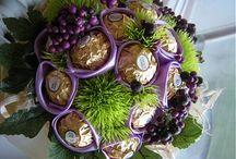 Sweet bouquets Ferrero
