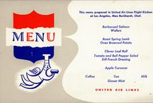 Air catering and menus
