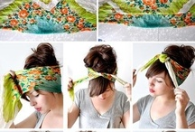 Scarves styles and hair scarves