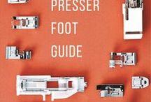 Symaskine trykfødder guide