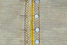 ПРИЁМЫ ВЯЗАНИЯ НА СПИЦАХ / Способы вязания, вшивания молний и т. п.