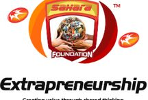 #Extrapreneurship / The extrapreneurship framework is a concept adopted by the Sahara Foundation, whose raison d'etre is directed at youth empowerment and poverty alleviation through the principles of entrepreneurship. Our chosen approach at Sahara will involve leveraging internal and external strengths to drive cross-sectoral collaboration by connecting the right people and organizations towards providing sustainable solutions to global social problems while creating wealth in the process.