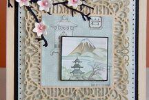 Mijn oosterse kaarten / kaarten met plaatjes van China En Japan