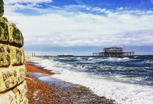 Brighton and Hove / Pics by the sea