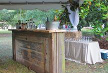 The bar!...