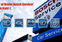 Broler Bosch Service / Zgodnie z filozofią firmy Bosch świadczymy usługi o najwyższej jakości przy użyciu nowoczesnego sprzętu diagnostycznego i części zamiennych. Oddając samochód do naszego zakładu możesz mieć pewność, że zostanie on naprawiony przez profesjonalistów. BS Broler posiada autoryzację firmy Bosch w zakresie kompleksowej obsługi (Bosch Car Service) samochodów osobowych, dostawczych do 3.5t, dostawczych 3.5 - 6t i ciężarowych. Zapraszamy serdecznie również motocyklistów!    www.broler.bosch-service.pl