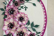 Heartfelt cards n flower cards