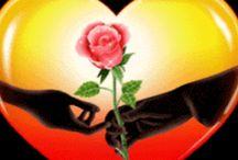 Darem lásky jsou květy tvého srdce.