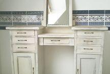 Винтажная мебель в стиле прованс
