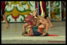 dayak maanyan (kal -teng) / This is one of Indonesian culture