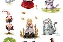 Alice in W: / Alice in wonderland