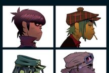 gorillaz / One of my all time favorite virtual bands! 2-D