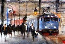 treno in stazione Google.iy
