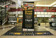 Brand installations for Absa Cape Epic / Every year for the past 3 years we have created large engaging environmental graphic displays leading up to registration.