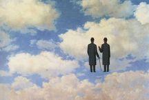 arte - Renè Magritte (1898-1967) / arte - pittore belga