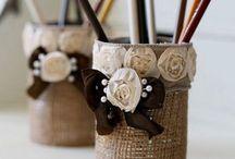 Декоративные баночки