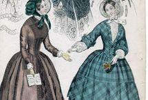 Fashion plate mid victorian era