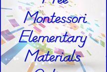 montessori materiale
