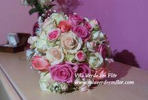 Bouquets Noiva / Bouquets de Noiva realizados por Vila Verde em Flôr