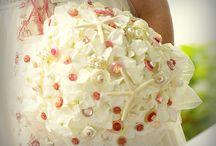 mes créations de bouquet de mariée