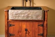 Rustic bathrooms / by Jim Polaski