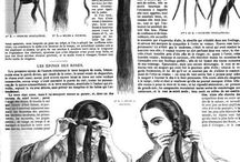 19th century hair / by Katie Underwood