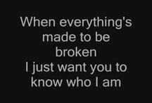 Lyrics  / by Iva Kraemer