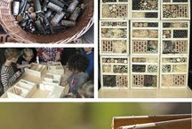 Wohnen für Wild Bienen