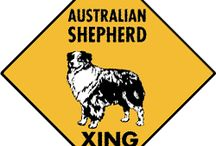 Australian Shepherd Signs and Pictures / Warning and Caution Australian Shepherd Signs. https://www.signswithanattitude.com/australian-shepherd-signs.html