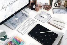 Schreibtisch und sonstiges