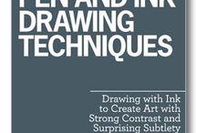 Caneta e Tinta | Pen and Ink
