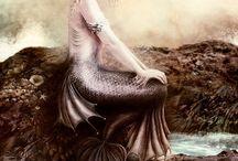 Sea fairy, marmaid