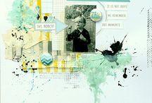 Scrapbook Layouts / by Julianne McKenna-De Lumen
