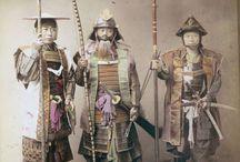 Samourais et geishas