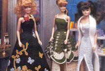 Barbie fashion doll crochet dress pattern