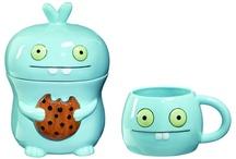 Tea pots,Jars and mugs