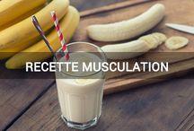 recette musculation