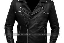 Negan Walking Dead Season 7 Black Jacket / Get this stylish Jeffrey Dean Morgan Motorcycle Leather Jacket at most discounted price from Sky-Seller with free Shipping.