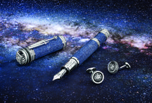 Johannes Kepler High Artistry Limited Edition / Untameable curiosity. A hunger for the stars. The revolutionary mind of astronomer Johannes Kepler inspires our new High Artistry writing instrument.