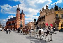 KRAKOW, Kraków / Krakow is one of the oldest and most beautiful cities in Central Europe, chosen as the European City of Culture 2000. The Old Town of Krakow was entered on the UNESCO World Cultural Heritage List. http://www.krakow-tours.pl/tours,2.html