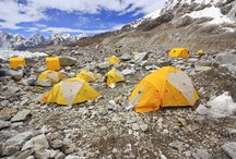 Everest Trekking / Close your eyes and imagine yourself surrounded by the colossal walls of mountains as if you are at the centre stage of a natural amphitheatre, chilled environment and rocky terrain as if you are in some other heavenly places. It feels awesome isn't it?