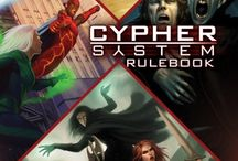 Monte Cook Games Covers / Covers for Numenera, The Strange, The Cypher System, and No Thank You, Evil!
