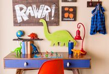 Jackson's Bedroom / Ideas to go with my Sons Dinosaur Themed Room
