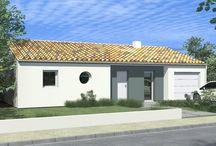 Constructeur de maison tendance modèle ARIZONA / Alliance Construction vous présente ce modèle très facile à intégrer dans son environnement et personnalisable.