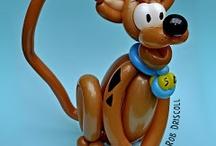 palloncini personaggi Scooby Doo