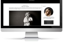 Black and White Blog Designs / Black and white modern blog designs, black and white blog templates. Blog designs that are simple yet chic!