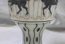 Ida Paulin  (1880 - 1955) : glass artist